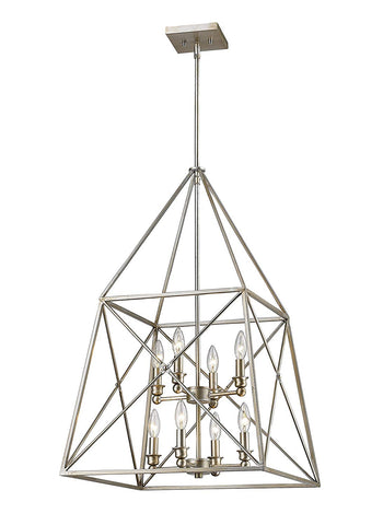 Z-Lite 447-8AS 8 Light Pendant 8