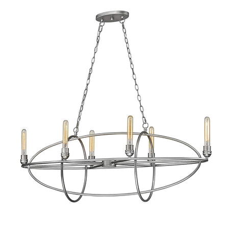 Z-Lite 3000-6OS 6 Light Chandelier 6
