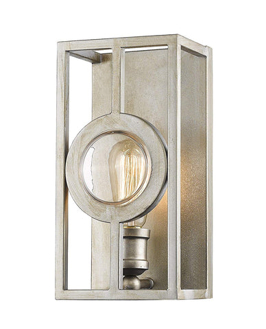 Z-Lite 448-1S-A-AS 1 Light Wall Sconce 1