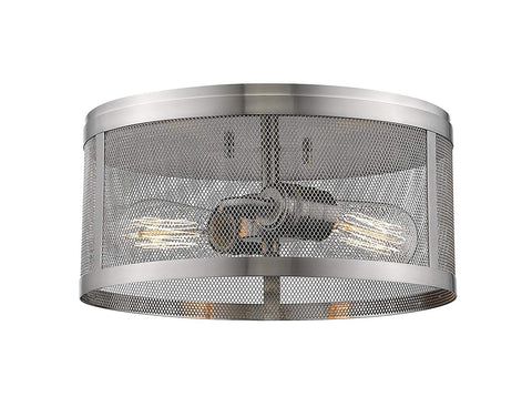 Z-Lite 331F12-BN 2 Light Flush Mount 2