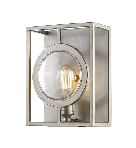 Z-Lite 448-1S-B-AS 1 Light Wall Sconce 1