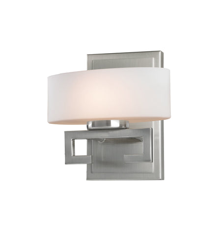 Z-Lite 3010-1V-LED Cetynia Collection Brushed Nickel Finish 1 Light Vanity Light