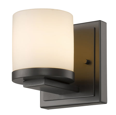 Z-Lite 1912-1S-BRZ-LED Nori Collection Bronze Finish 1 Light Wall Sconce