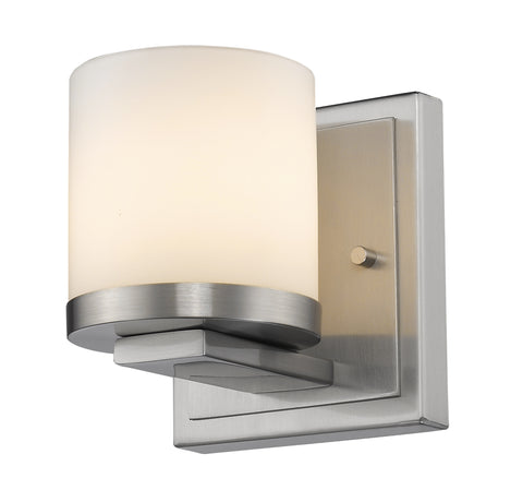Z-Lite 1912-1S-BN-LED Nori Collection Brushed Nickel Finish 1 Light Wall Sconce