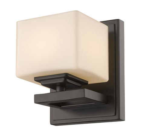 Z-Lite 1914-1S-BRZ-LED Cuvier Collection Bronze Finish 1 Light Wall Sconce