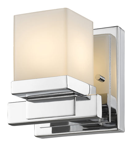 Z-Lite 1913-1S-CH-LED Cadiz Collection Chrome Finish 1 Light Wall Sconce