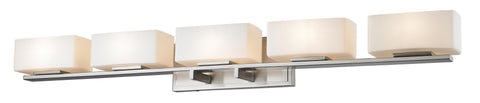 Z-Lite 3029-5V-BN-LED Kaleb Collection Brushed Nickel Finish 5 Light Vanity Light