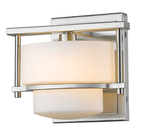 Z-Lite 3030-1S-BN-LED Porter Collection Brushed Nickel Finish 1 Light Wall Sconce