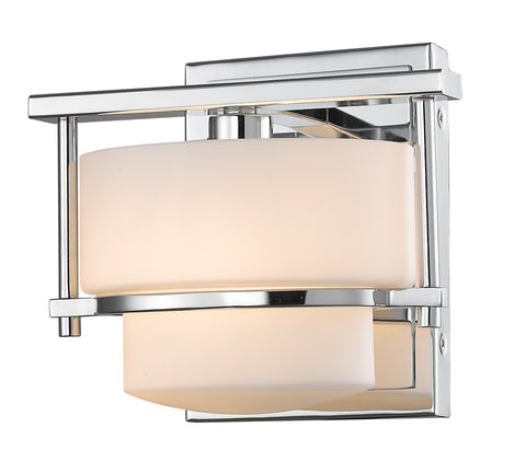 Z-Lite 3030-1S-CH-LED Porter Collection Chrome Finish 1 Light Wall Sconce