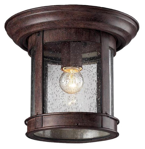 Z-Lite 515f-wb Outdoor Flush Mount Collection Outdoor Flush Mount Light - ZLiteStore