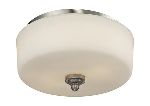 Z-Lite 434-F2-BN 2 Light Flush Mount - ZLiteStore