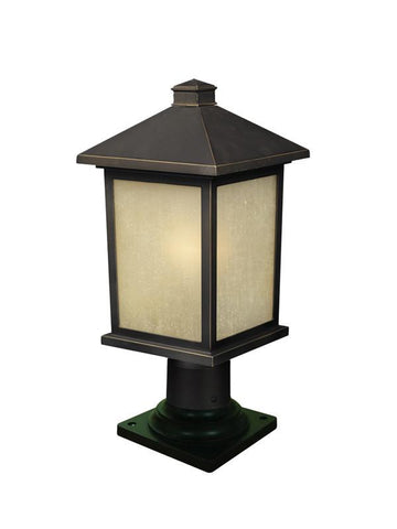 Z-Lite 507phm-533pm-orb Holbrook Collection Outdoor Post Light - ZLiteStore