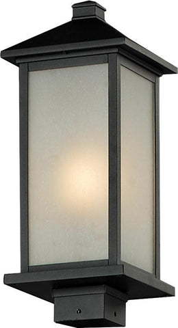 Z-Lite 547phm-bk Vienna Collection Outdoor Post Light - ZLiteStore