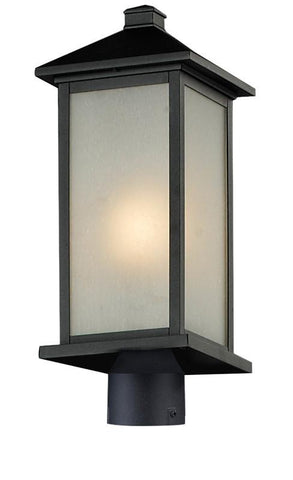 Z-Lite 547phm-bk-r Vienna Collection Outdoor Post Light - ZLiteStore