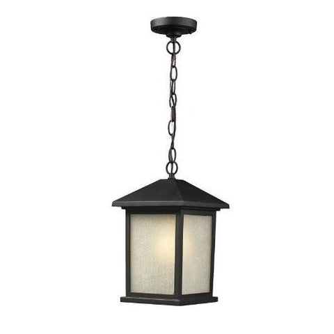 Z-Lite 507chb-bk Holbrook Collection Outdoor Wall Light - ZLiteStore
