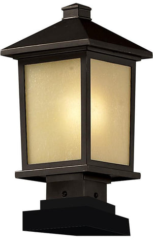 Z-Lite 537phm-sqpm-orb Holbrook Collection Outdoor Post Light - ZLiteStore