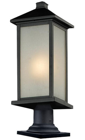 Z-Lite 547phmr-533pm-bk Vienna Collection Outdoor Pier Mount - ZLiteStore