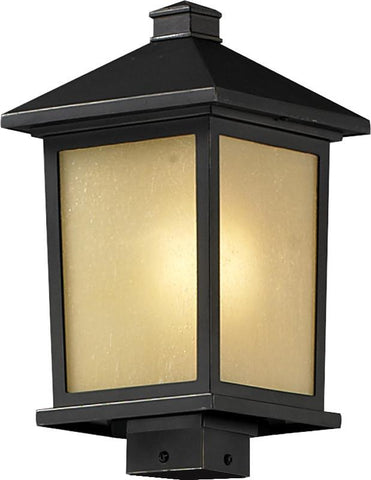 Z-Lite 537phb-orb Holbrook Collection Outdoor Post Light - ZLiteStore