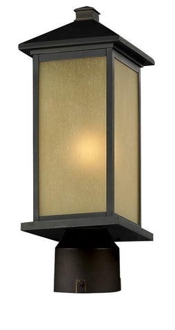 Z-Lite 548phm-orb-r Vienna Collection Outdoor Post Light - ZLiteStore