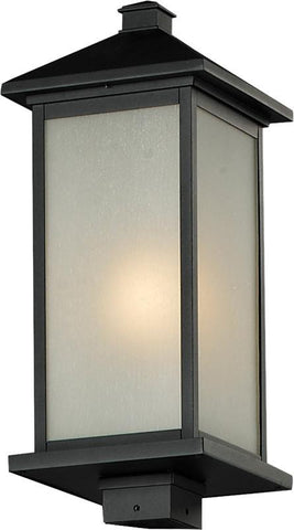 Z-Lite 547phb-bk Vienna Collection Outdoor Post Light - ZLiteStore
