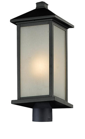 Z-Lite 547phb-bk-r Vienna Collection Outdoor Post Light - ZLiteStore