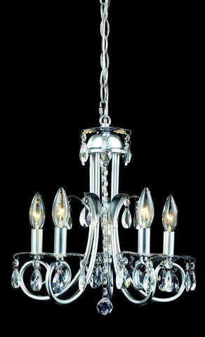 Z-Lite 852s Pearl Collection 5 Light Crystal Chandelier - ZLiteStore