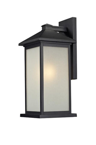 Z-Lite 547b-bk Vienna Collection 1 Light Outdoor Light - ZLiteStore