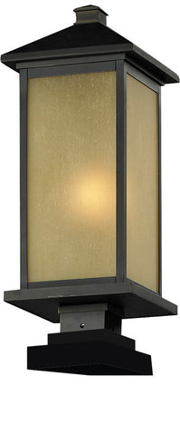 Z-Lite 548phm-sqpm-orb Vienna Collection Outdoor Post Light - ZLiteStore