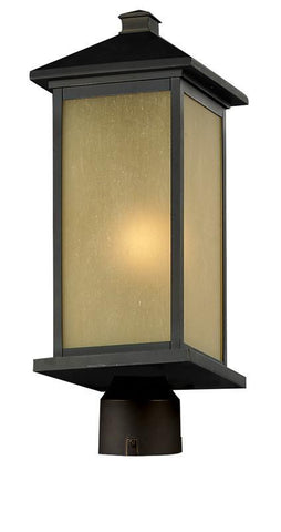 Z-Lite 548phb-orb-r Vienna Collection Outdoor Post Light - ZLiteStore