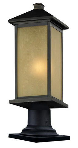Z-Lite 548phbr-533pm-orb Vienna Collection Outdoor Post Light - ZLiteStore