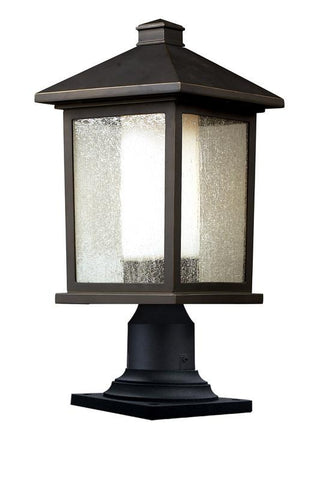 Z-Lite 524phb-533pm-orb Mesa Collection Outdoor Post Light - ZLiteStore