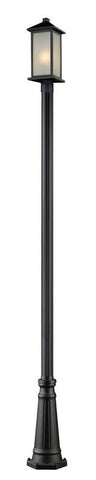 Z-Lite 547phmr-519p-bk Vienna Collection Outdoor Post Light - ZLiteStore