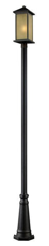 Z-Lite 548phbr-519p-orb Vienna Collection Outdoor Post Light - ZLiteStore