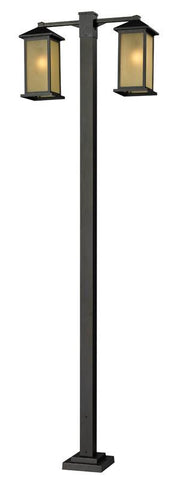 Z-Lite 548-2-536p-orb Vienna Collection 2 Head Outdoor Post - ZLiteStore