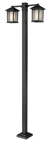 Z-Lite 524-2-536p-orb Mesa Collection 2 Head Outdoor Post - ZLiteStore