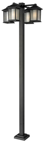 Z-Lite 524-4-536p-orb Mesa Collection 4 Head Outdoor Post - ZLiteStore