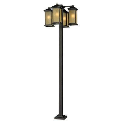 Z-Lite 548-4-536p-orb Vienna Collection 4 Head Outdoor Post - ZLiteStore