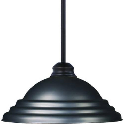 Z-Lite Pendant Lights Collection Olde Bronze Finish One Light Pendant - ZLiteStore