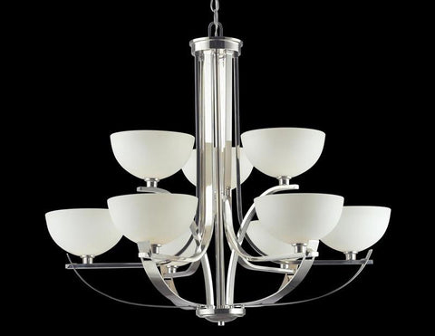 Z-Lite 605-9 Ellipse Collection 9 Light Chandelier - ZLiteStore