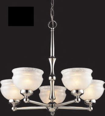Z-Lite Sterling Collection Pewter Finish 5 Light Chandelier - ZLiteStore