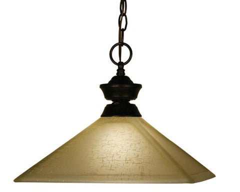 Z-Lite 100701brz-mgl13 Pendant Lights Collection 1 Light Pendant - ZLiteStore