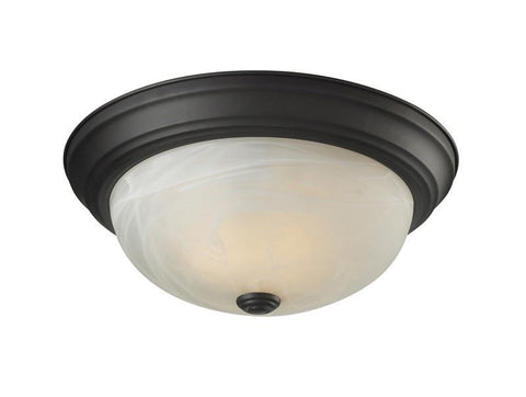 Z-Lite 2113f2 Athena Collection 2 Light Ceiling - ZLiteStore