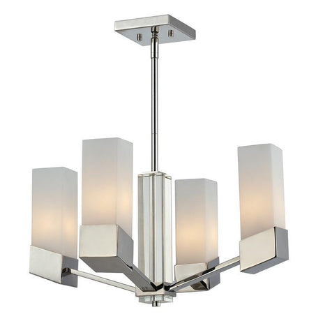 Z-Lite 607-4 Zen Collection 4 Light Chandelier - ZLiteStore