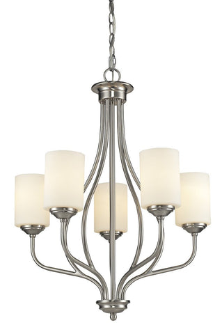 Z-Lite 434-5-BN 5 Light Chandelier - ZLiteStore