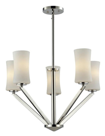 Z-Lite 608-5-ch Elite Collection 5 Light Chandelier - ZLiteStore