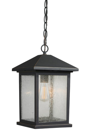 Z-Lite 531CHM-ORB 1 Light Outdoor Chain Light - ZLiteStore