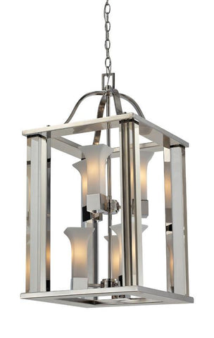 Z-Lite 611-30-ch Lotus Collection 6 light foyer light - ZLiteStore