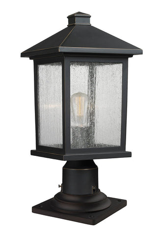 Z-Lite 531PHMR-533PM-ORB 1 Light Outdoor Pier Mount Light - ZLiteStore