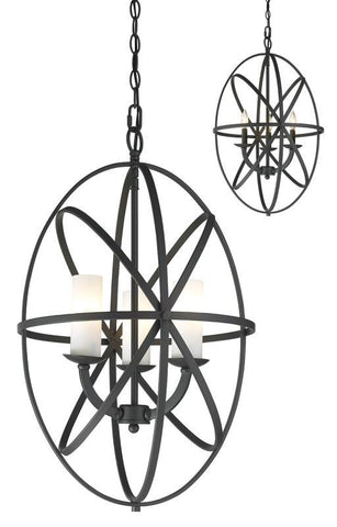 Z-Lite 6027-3S-BRZ 3 Light Pendant - ZLiteStore