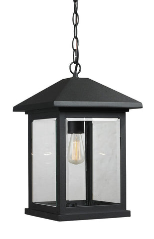 Z-Lite 531CHB-BK 1 Light Outdoor Chain Light - ZLiteStore